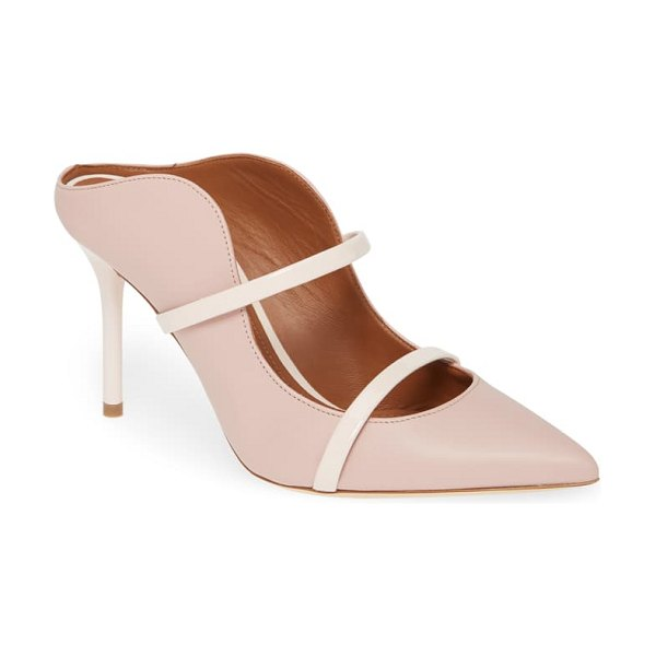 MALONE SOULIERS maureen double band mule in pink