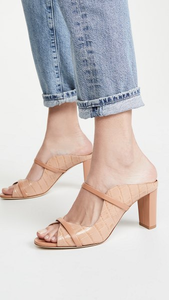 MALONE SOULIERS norah mules in nude/nude