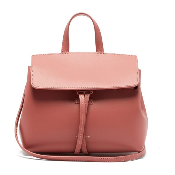 Mansur Gavriel mini mini lady leather cross body bag in light pink - Mansur Gavriel - Mansur Gavriel's pink Lady bag has...