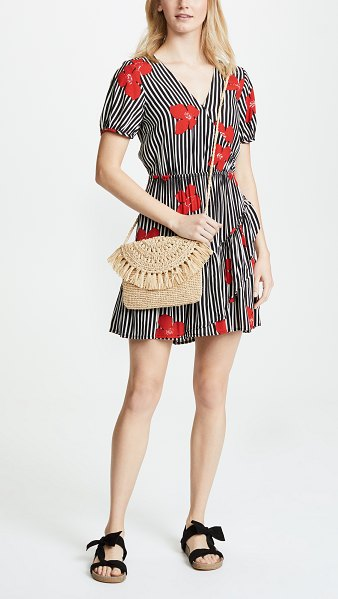 MAR Y SOL new mia cross body bag in natural - Exclusive to Shopbop Fabric: Crocheted raffia Fringe...