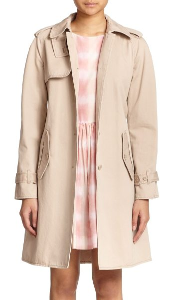 Marc by Marc Jacobs Classic cotton trenchcoat in newbeige - A timeless wardrobe staple in lightweight cotton,...