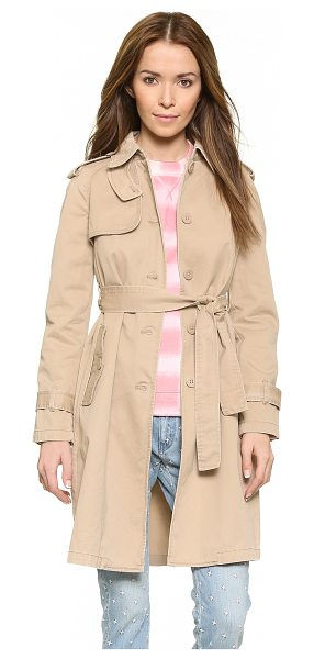 Marc by Marc Jacobs Classic cotton trench in new beige - A timeless Marc by Marc Jacobs trench in durable twill....