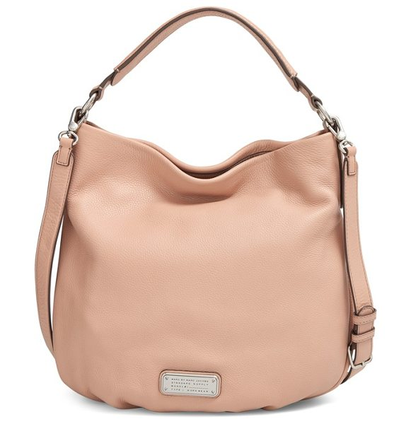 Marc by Marc Jacobs New q hillier hobo in cameo nude