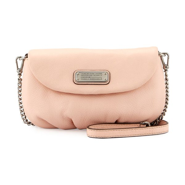 Marc by Marc Jacobs New q karlie leather crossbody bag in pearl blush - MARC by Marc Jacobs crossbody bag in soft leather....