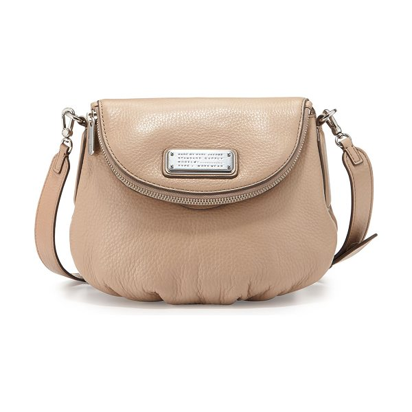 Marc by Marc Jacobs New q zipper natasha mini bag in cameo nude