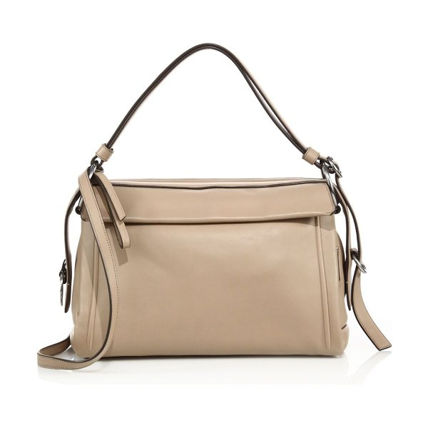 Marc by Marc Jacobs Prism 34 leather crossbody bag in cameonude