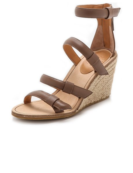 Marc by Marc Jacobs Seditionary espadrille wedges in taupe