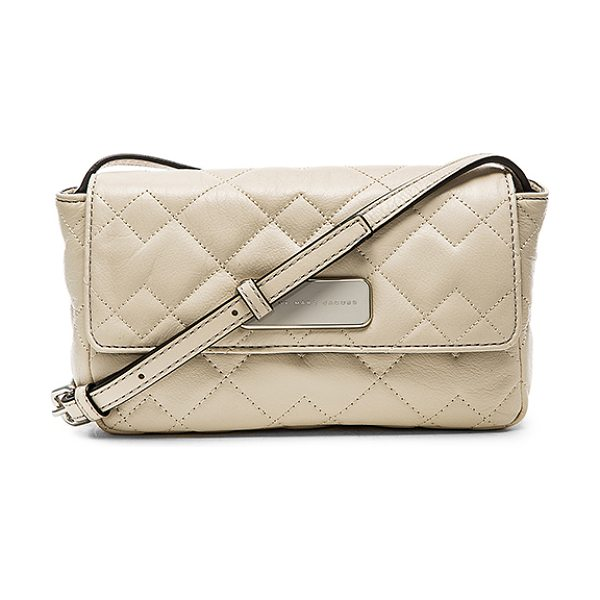 MARC BY MARC JACOBS Sophisticato crosby quilt jule crossbody - Quilted leather exterior with poly fabric lining....