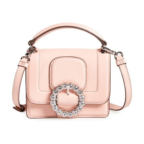Marc by Marc Jacobs The box crossbody bag in pearl blush - MARC BY MARC JACOBS' timeless sensibility is evident in...