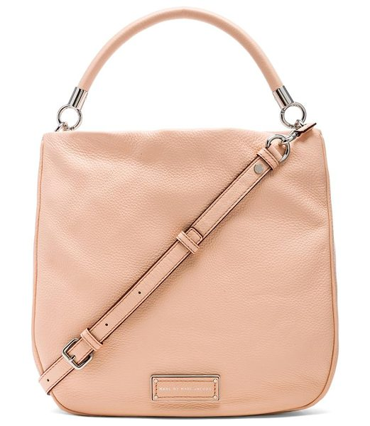 Marc by Marc Jacobs Too hot to handle hobo in peach - Leather exterior with jacquard fabric lining. Measures...