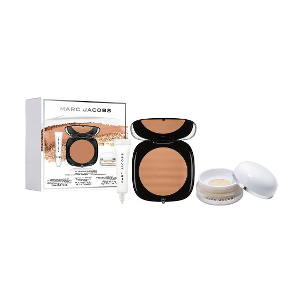 Marc Jacobs Beauty Blurred & Bronzed - Primer, Setting Powder & Bronzer Set
