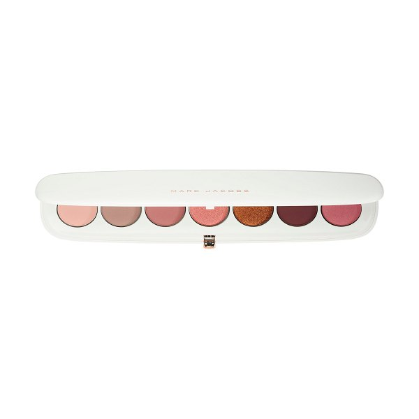 Marc Jacobs Beauty Eye-Conic Multi-Finish Eyeshadow Palette - Coconut Fantasy Collection Fantascene - A long-wearing eyeshadow palette in a glossy white...