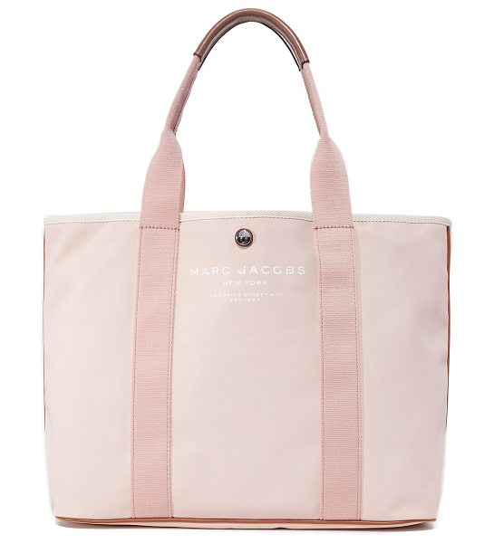 MARC JACOBS canvas shopper - A sturdy Marc Jacobs tote rendered in coated canvas with...