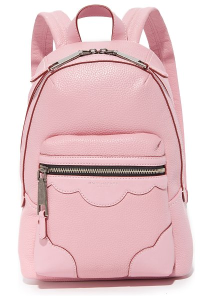 MARC JACOBS Haze backpack - A pebbled leather Marc Jacobs backpack accented with...