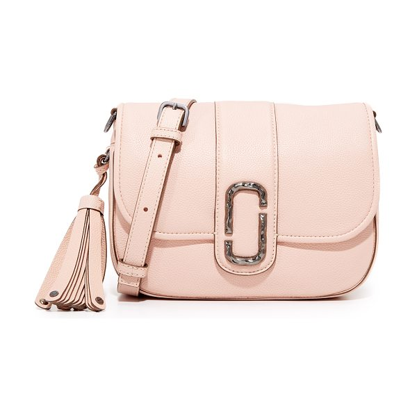 Marc Jacobs interlock small shoulder bag in pale pink