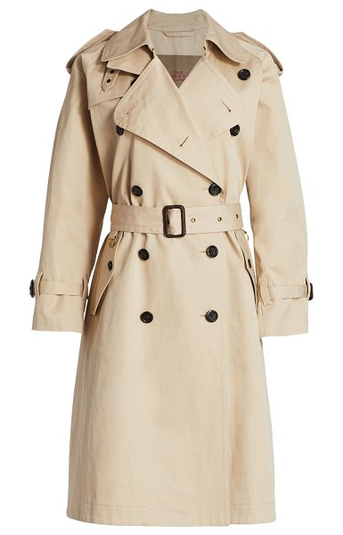 THE MARC JACOBS m. cousins x the trench in beige