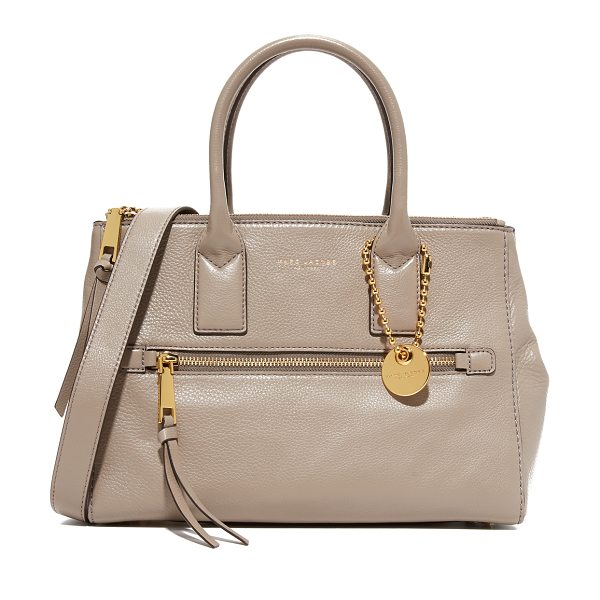 Marc Jacobs recruit east / west tote in mink - An elegant Marc Jacobs handbag in soft, luxe leather....