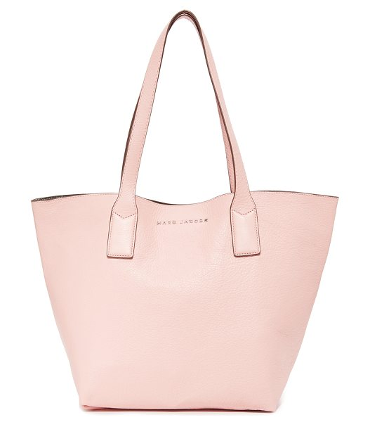 Marc Jacobs wingman tote in rose quartz - A roomy Marc Jacobs tote in pebbled leather. A...