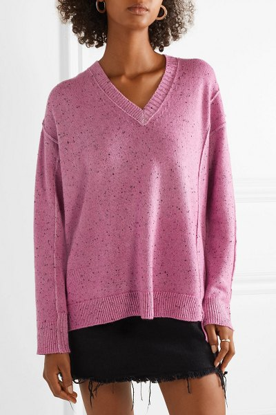 Marc Jacobs oversized cashmere sweater in pink