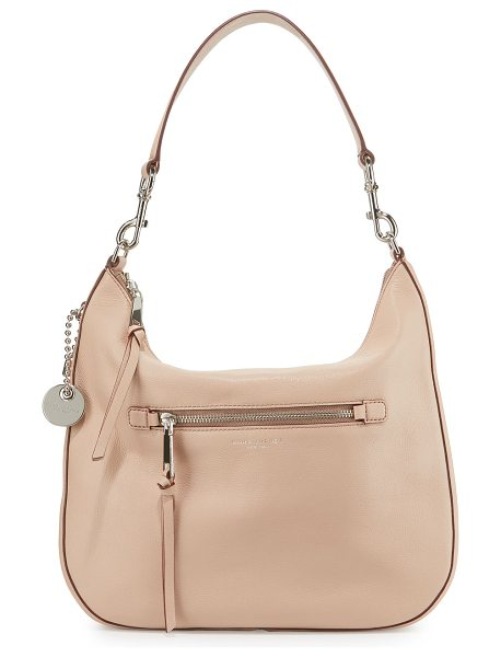 Marc Jacobs Recruit leather hobo bag in nude