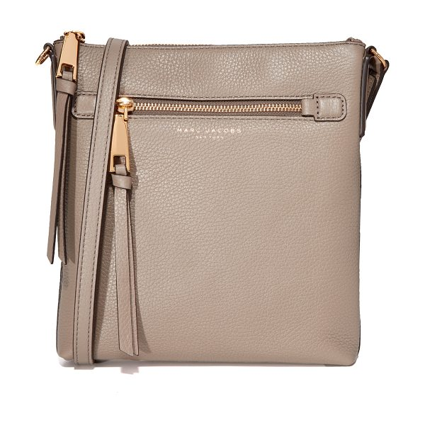 Marc Jacobs recruit north / south cross body bag in mink - This skinny Marc Jacobs cross-body bag is cut from...