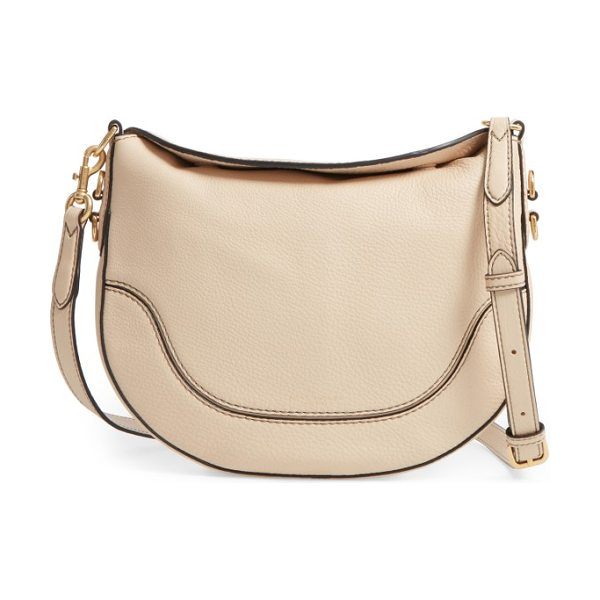 Marc Jacobs small leather shoulder bag in buff