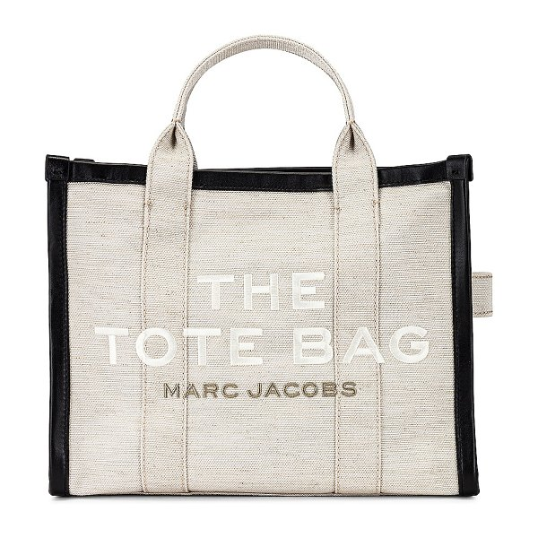 Marc Jacobs small traveler tote in natural