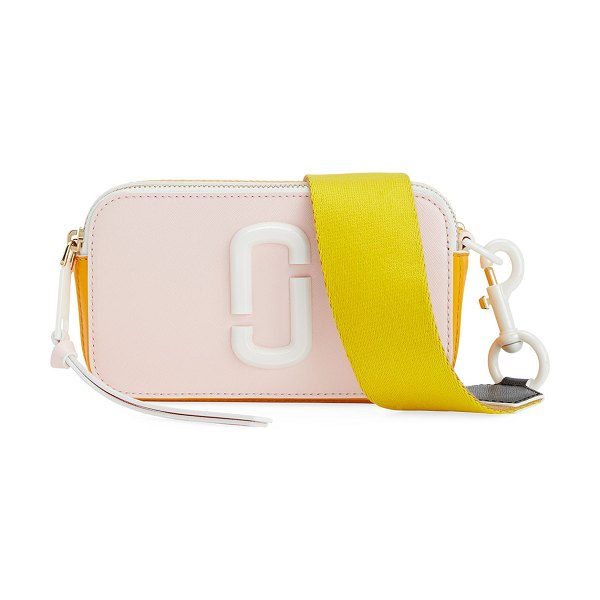 Marc Jacobs Snapshot Ceramic Crossbody Bag in pink