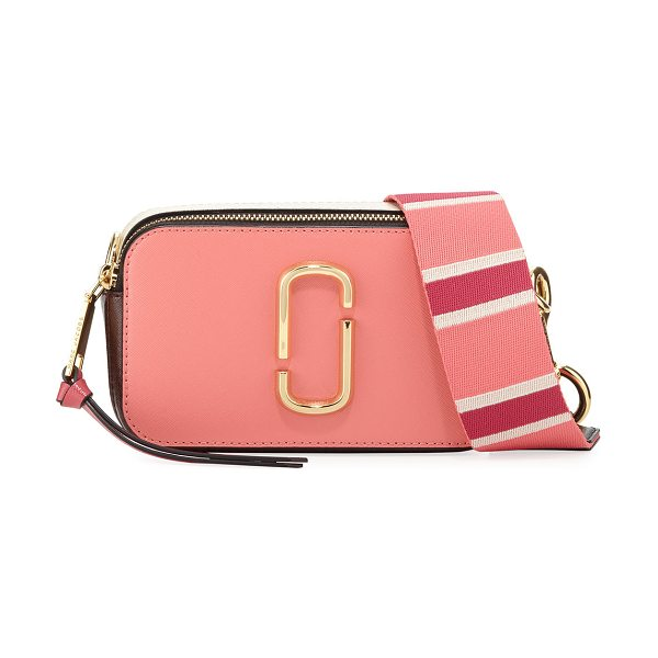 Marc Jacobs Snapshot Colorblock Camera Bag in coral multi - EXCLUSIVELY AT NEIMAN MARCUS (Dust only) Marc Jacobs...