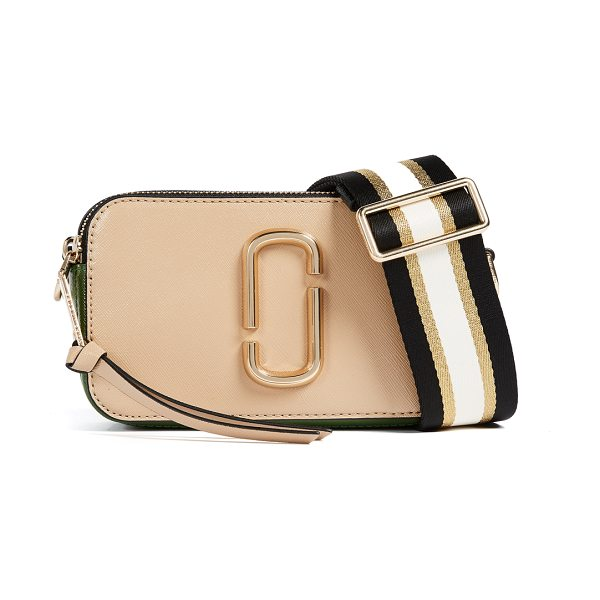 Marc Jacobs snapshot cross body bag in sandcastle multi - A boxy Marc Jacobs bag in colorblock, saffiano leather....