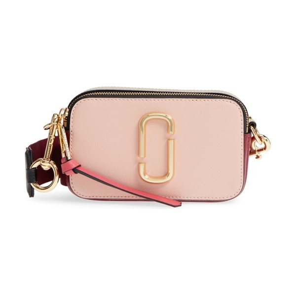 Marc Jacobs snapshot crossbody bag in pink