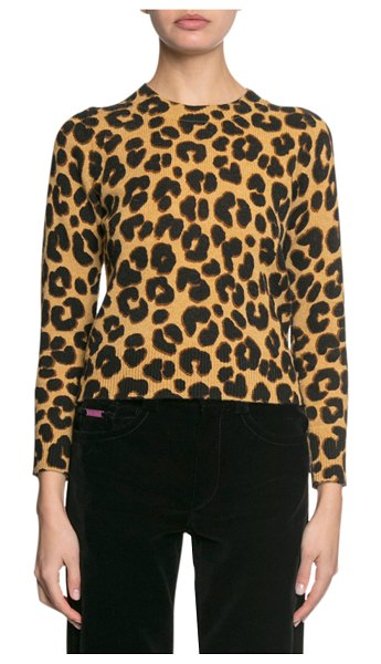 Marc Jacobs The Printed Sweater in gold