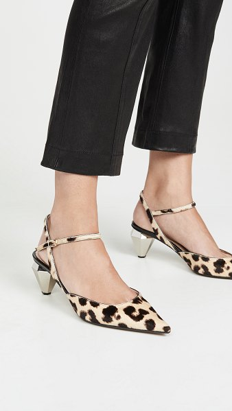 Marc Jacobs the slingback pumps in camel multi