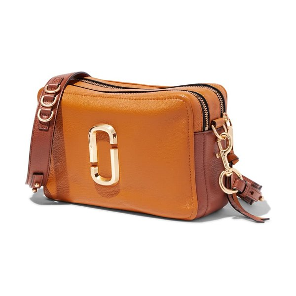 Marc Jacobs the softshot 27 crossbody bag in brown