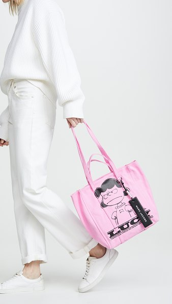 Marc Jacobs the tag tote 27 in pink