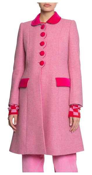 Marc Jacobs x NY Magazine The Sunday Best Coat in pink