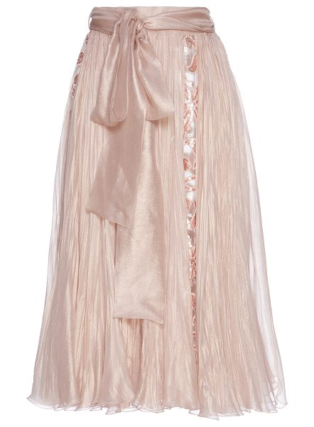 Maria Lucia Hohan Abra Silk Skirt in neutral - Crafted in silk this *Maria Lucia Hohan* skirt features...