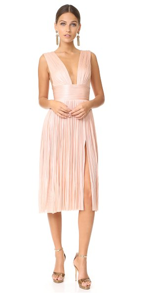 Maria Lucia Hohan aurora high slit dress in dusty pink - This graceful Maria Lucia Hohan dress is crafted in...