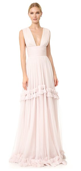 Maria Lucia Hohan Maria Lucia Hohan Maxi Gown in sorbet - A filmy, ethereal Maria Lucia Hohan gown made from...
