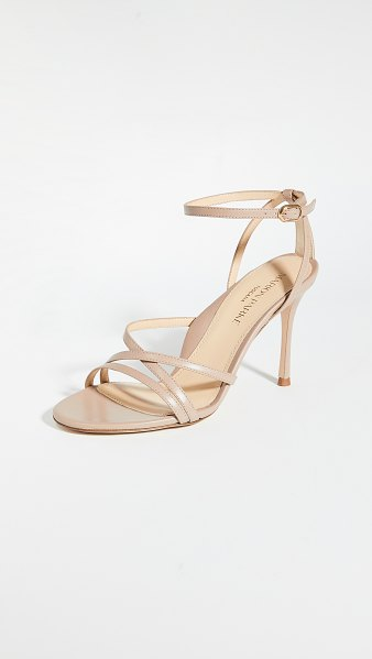 Marion Parke lillian strappy sandals in buff