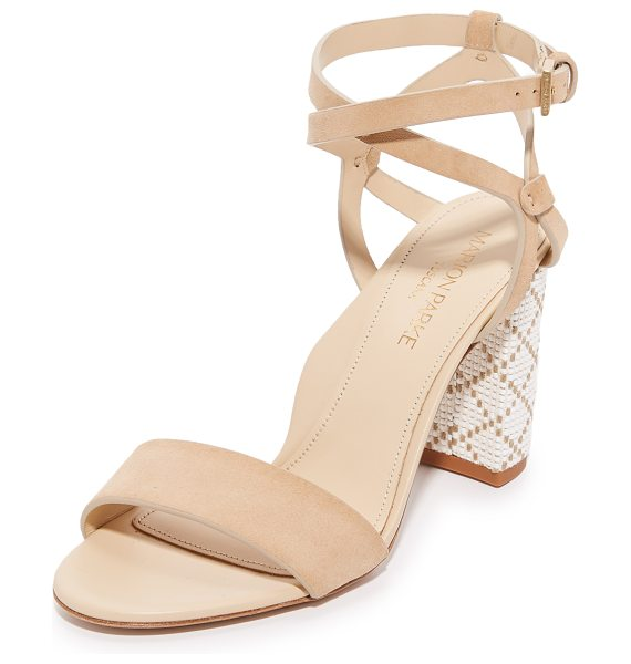 Marion Parke lisa sandals in desert