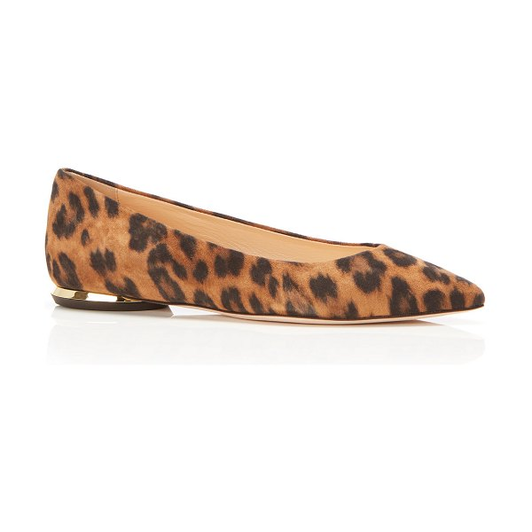 Marion Parke Must Have Suede Ballerina Flats in leopard