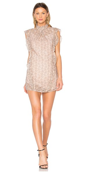Marissa Webb Alaina Lace Dress in pink - Flirty in shape yet refined in fabrication, the Marissa...