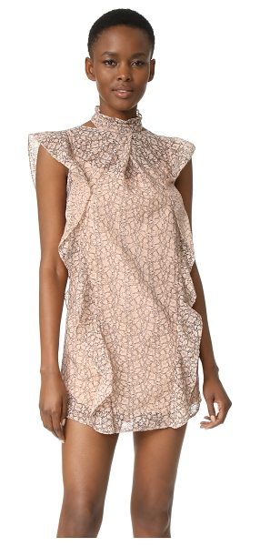 MARISSA WEBB alaina lace dress - This graceful lace Marissa Webb mini dress is draped...