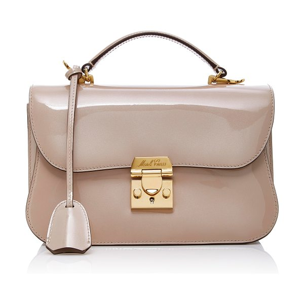 Mark Cross Sparkle Dorothy Bag in neutral - This *Mark Cross* Dorothy bag is rendered in sparkled...
