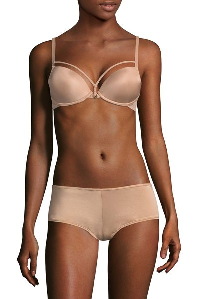 Marlies Dekkers space padded push-up bra in camel