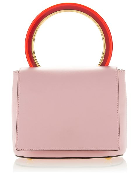 MARNI Leather Foldover Top Handle - This *Marni* crossbody bag is rendered in leather and...