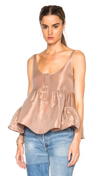 Maryam Nassir Zadeh Ilaria tank top in neutrals,brown