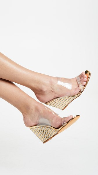 Maryam Nassir Zadeh olympia wedge sandals in gold