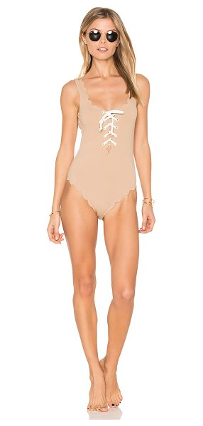 MARYSIA SWIM Palm Springs Tie One Piece - 88% polyamide 12% elastane. Hand wash cold. Elastic...